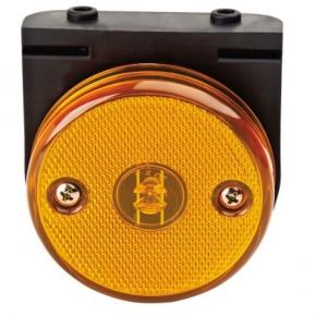 0cfaefc73a Lanterna Lateral Carreta Modelo GUERRA/RANDON com Leds BI - bolt com  Suporte Amarela